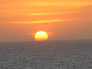 cgena sunset