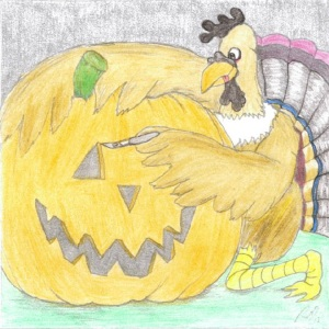 Juancho thanksgiving cartoon