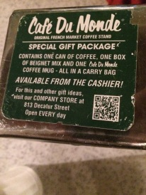 The Menu at Cafe du Monde®