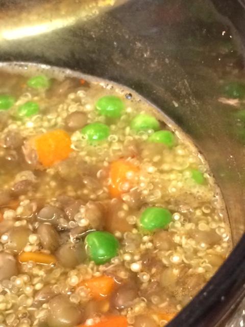 Mix of Lentils and Quinoa